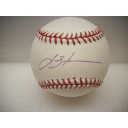Lance Berkman Autograph...