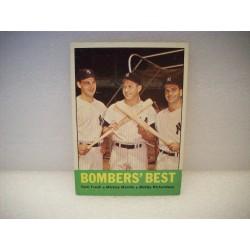 1963 Topps Bombers Best -...