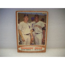 1962 Topps Managers Dream -...