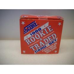 1988 Score Traded Set...