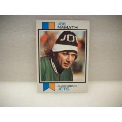 1973 Topps Joe Namath