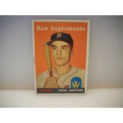 1958 Topps Ken Aspromonte