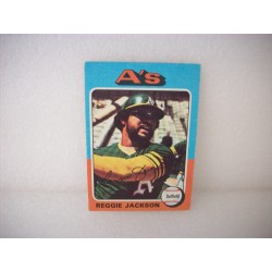 1975 Topps Mini Reggie Jackson
