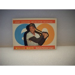 1960 Topps Willie Mays...