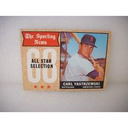 1968 Topps Carl Yastrzemski...