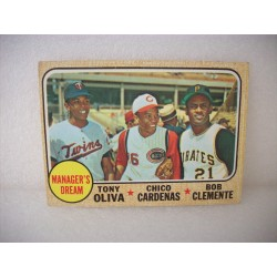 1968 Topps Managers Dream...