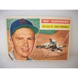 1956 Topps Red Schoendienst