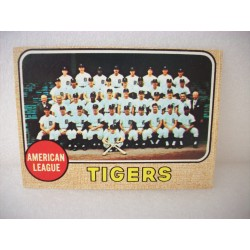 1968 Topps Tigers Team Card...