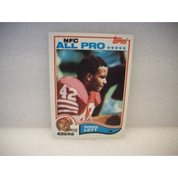 1982 Topps Ronnie Lott Rookie