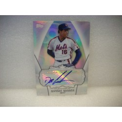 2013 Topps Dwight Gooden Auto