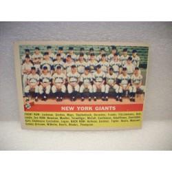 1956 Topps New York Giants TC