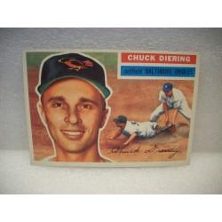1956 Topps Chuck Diering