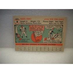 1958 Topps Baseball Commons