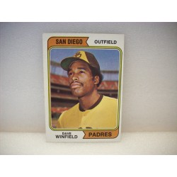 1974 Topps Dave Winfield...