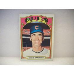 1972 Topps Baseball Steve...